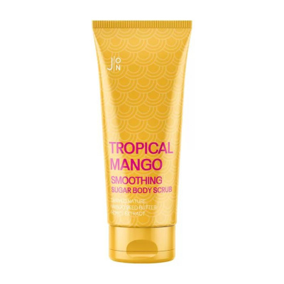 картинка J:ON Скраб для тела МАНГО Tropical Mango Smoothing Sugar Body Scrub, 250 гр от интернет-магазина mom-me.ru